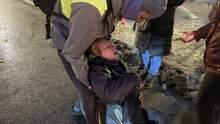 Тяжелое состояние: как чувствует себя женщина, которую силовик в Санкт-Петербурге ударил в живот