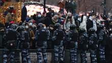 Волю для протестувальників: країни Балтії закликали ЄС ввести санкції проти Росії