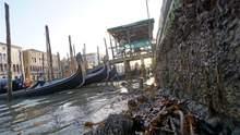 В Венеции пересохли знаменитые каналы: видео