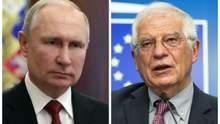 Боррель звинуватив Росію у розповсюдженні фейків про вакцинацію