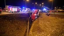 Часть украинцев, пострадавших в ДТП в Польше, выписали из больницы