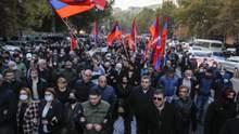 Протесты в Армении: в стране заговорили о танках в столице