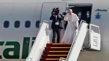 Папа Франциск завершил свой исторический визит в Ирак