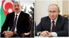 """Алиев напрямую спросил у Путина о появлении российских """"Искандеров"""" в Карабахе"""