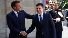 Зеленский встретится с Макроном в Париже 16 апреля, – СМИ