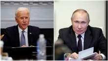 Байден поговорил по телефону с Путиным о Донбассе