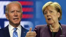 Байден і Меркель звернулися до Росії з вимогою щодо її військ біля України