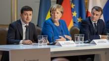 До переговорів Макрона та Зеленського через відеозв'язок долучиться Меркель, – ЗМІ