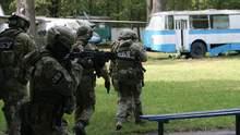 Военные колонны и проверки: СБУ начала масштабные учения в Харьковской области