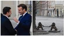 Главные новости 16 апреля: Зеленский встретился с Макроном, во Львове продлили локдаун