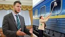 Міністр Криклій зустрінеться з данцем, який помив вікно Укрзалізниці