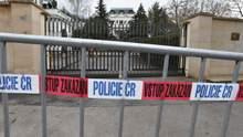 Як було до 1968 року: Прага вимагає зменшити територію посольства Росії