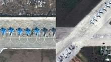 Наращивание войск оккупантов в Крыму: Россия перебрасывает дополнительную авиацию – фото