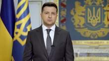 Зеленский обратился к украинцам по поводу эскалации на Донбассе