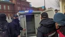 В России на митингах в поддержку Навального задержали около 200 человек: фото, видео