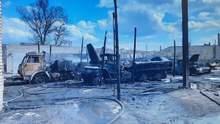 Постраждав боєць: в ООС розповіли деталі пожежі у військовій частині