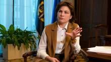 Венедиктова объяснила отсутствие приговоров в громких делах с Кагарлыка и Переяслава