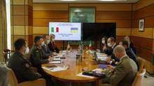 Министерство обороны договорилось о сотрудничестве с вооруженными силами Италии: фото