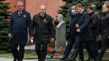 На парад к Путину в гости приехал только президент Таджикистана