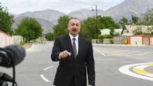 Алієв заявив, що вважає карабаський конфлікт урегульованим