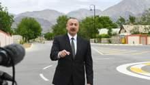 Алиев заявил, что считает карабахский конфликт урегулированным
