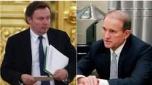 """Передача інформації та санкції: у мережу """"злили"""" нову розмову Медведчука з російським чиновником"""