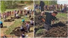 У Росії провели чемпіонат зі швидкісного копання могил