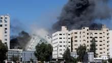 Там був штаб розвідки ХАМАС, – Ізраїль пояснив удар по вежі в Секторі Гази