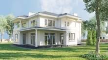 Оформлення фасаду заміського будинку – популярні стилі: фото