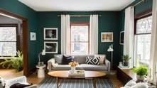 Зелений колір у дизайні квартири: секрети і красиві ідеї
