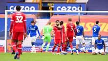 """""""Евертон"""" та """"Ліверпуль"""" зіграли внічию, суддя відмінив переможний гол на 90+2 хвилині"""