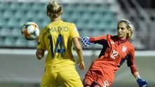 Найкраща гравчиня матчу проти Ірландії – вона долучилась до важливої перемоги України