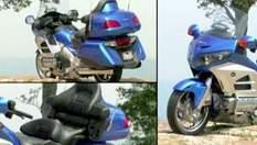 Honda Goldwing - самый популярный туристический мотоцикл в мире