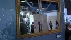 Ярмарка электроники представляет уникальный телевизор-зеркало