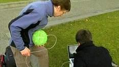Делать панорамные фото теперь можно с помощью мяча