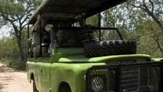 Для экскурсий в национальном парке ЮАР используют Land Rover