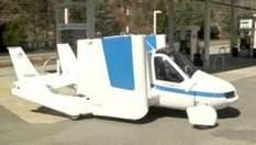 Terrafugia представила летающее авто, на котором можно ездить по дорогам города