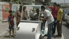Таксист за 3 дня создал электромобиль
