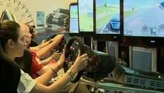 На выставке компьютерных игр Gamescom геймеры бесплатно испытывают новинки игрового рынка
