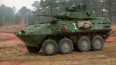 LAV-25 - главный бронетранспортер американских морских пехотинцев