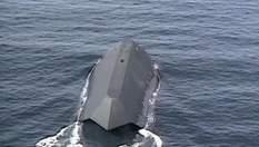 """Sea Shadow - военный корабль, который """"снялся"""" в фильме о Джеймсе Бонде"""