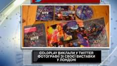 Coldplay выложили в Twitter фотографии со своей выставки в Лондоне