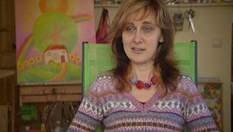 Оксана Шапкаріна і малює, і живе з оптимізмом