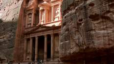 Петра - древний город на территории современной Иордании