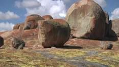 """Холмы Матобо - """"лысая голова"""" Зимбабве с таинственными рисунками"""