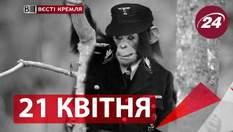 """""""Вєсті Кремля"""". Мавпи-фашисти у цирках Росії, наркоманські революції у світі"""
