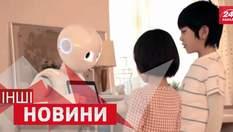 ІНШІ новини. Робот, який навчатиметься у школі. Кіт на дипломатичній службі Його Величності