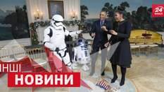 ДРУГИЕ новости. Танцы от Барака Обамы. Экстремальный трюк от канатоходца