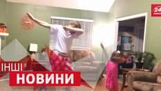 ДРУГИЕ новости. Тимберлейка растрогало видео танцев под его песню. Родители разыгрывают детей