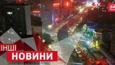 ДРУГИЕ новости. Зрелищное разрушение трассы в Китае. Как дети реагируют на кумиров